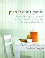 Plan it Don't Panic
